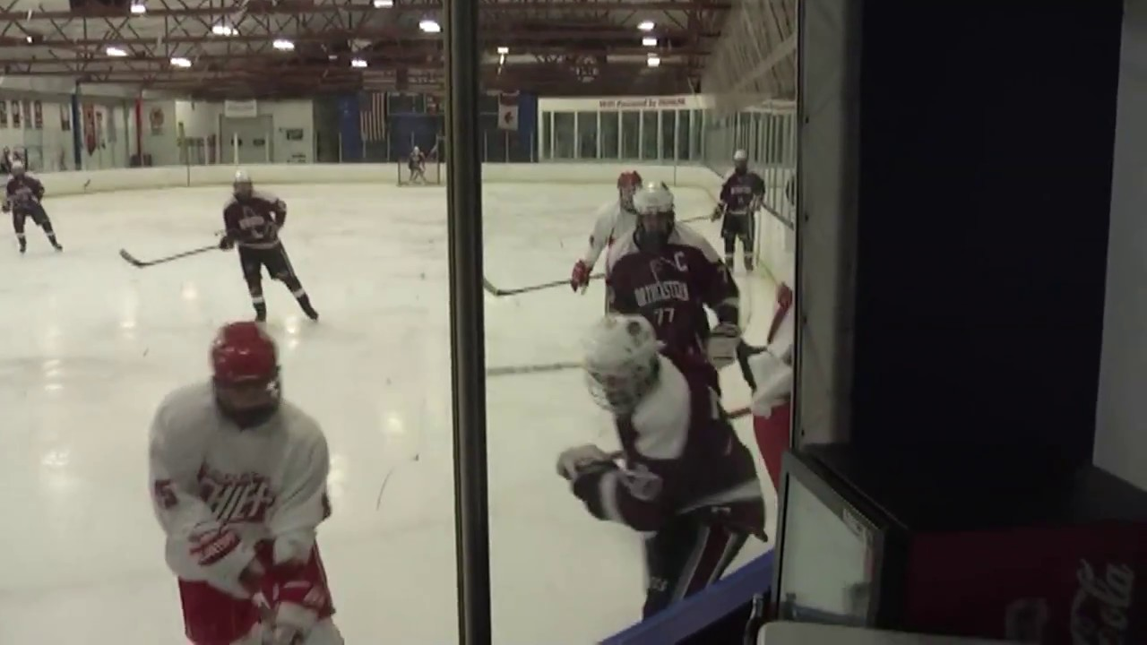 NCCS - Saranac Hockey  1-14-17