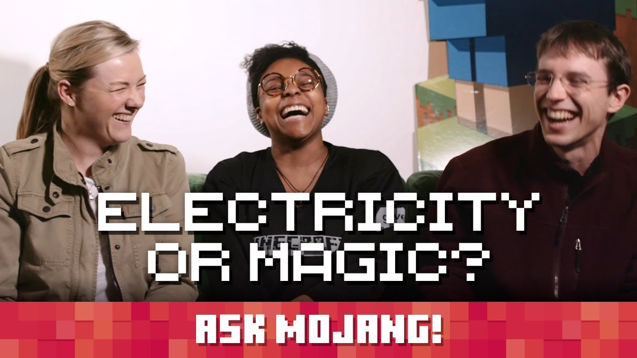 Ask Mojang #10: Electricity or Magic?