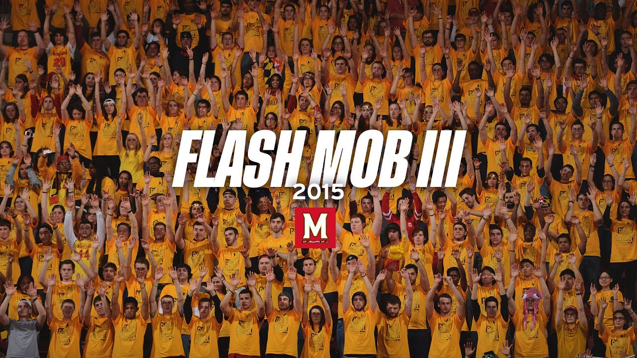 Maryland Students Flash Mob III (2015) - YouTube