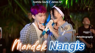 Syahiba Saufa ft. James AP - Mandek Nangis | Banyu Moto Uwes Asat (Official Music Video)