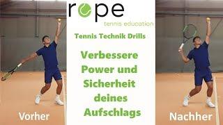 Tennis Aufschlag Technik - Wie du mehr Power und Sicherheit in deinen Aufschlag bringen kannst