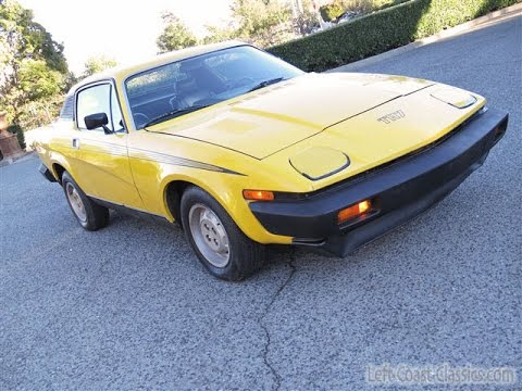 1977 Triumph Tr7 Coupe For Sale In Original Inca Yellow Youtube
