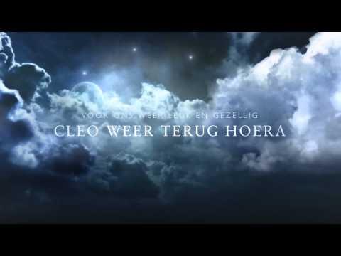 Cleo terug