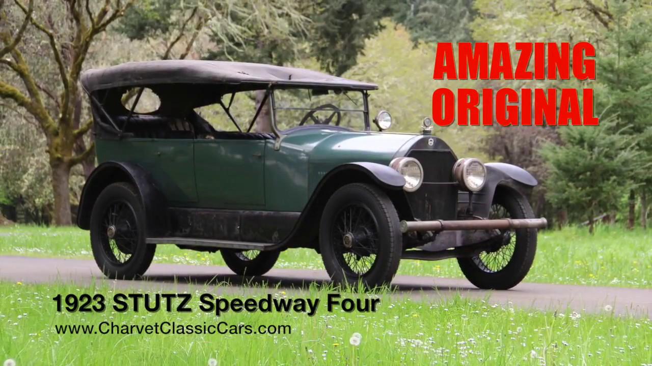 TEST DRIVE: ORIGINAL 1923 Stutz Speedway 4. Charvet Classic Cars ...