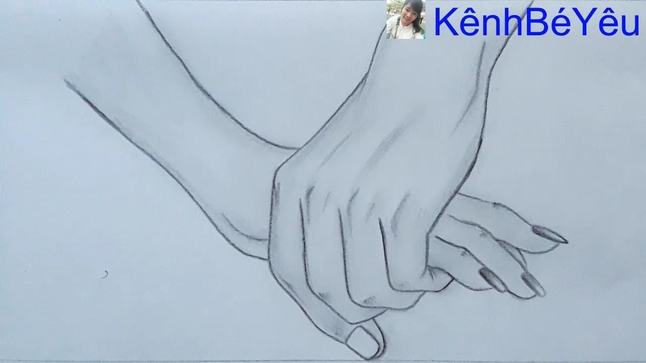 Vẽ tay bằng bút chì – Hand drawing with pencil.
