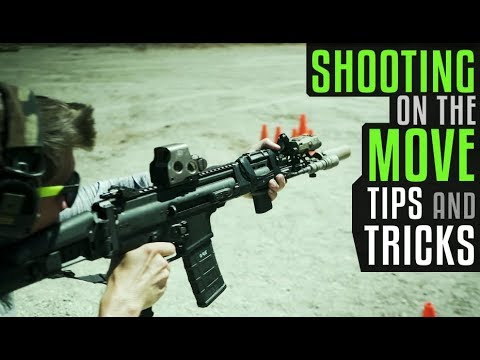 Shooting On The Move With SCAR 16 And Suppressed MCX
