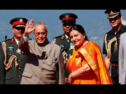 President Pranab Mukherjee Begins 3 -Day nepal   | Medianp.com