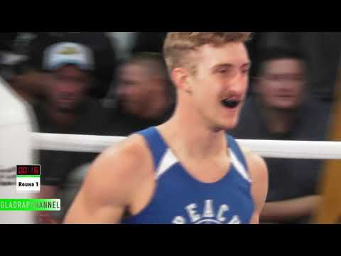 Fight 10: William Hopper vs Jesse 'The Maniac' Maio  Peach Boxing's Trading Punches @ ABA