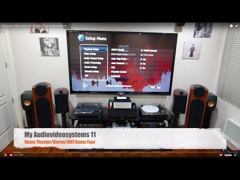 [My Audio Video Systems 11] Home Theater Stereo Room Update