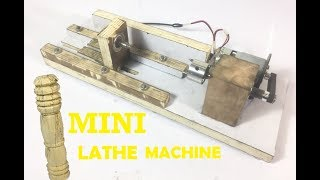 Design & Fabrication on Mini Lathe Machine