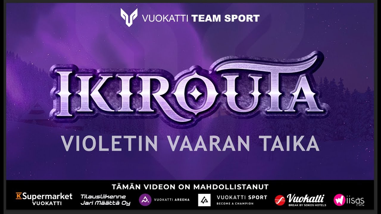 """""""Violetin vaaran taika"""" on Ikirouta-yhtyeen kymmenes single, joka julkaistiin 26.3.2021."""