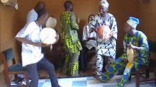 Ogun Dance with Sakara Drums
