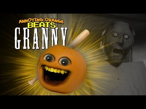 Annoying Orange Beats GRANNY!