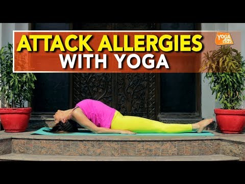 Yoga For Allergies | Fish Pose | Yoga Tak