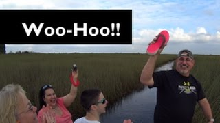 Alligators!!! Sea Cruisers Group Cruise Day 1 - Airboat & Hotel & Dinner [Vlog ep2]
