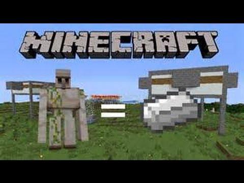 Usine a fer minecraft ps3