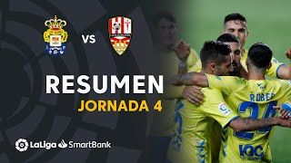 Resumen de UD Las Palmas vs UD Logroñés (2-1)