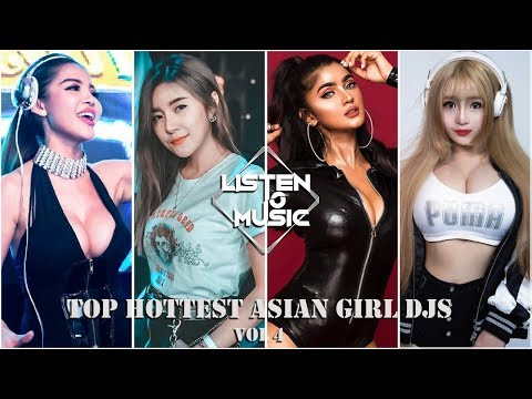 Top Hottest Asian Girl DJs Vol 4 - DJ Faahsai, Varra, Sakura And Bombshell