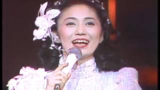 1983年1月の映像 「十周年メドレー」 石川さゆりさんの初期の曲の...