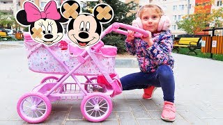 Booboo Story with Mickey and Minnie Mouse   Melly Karamely