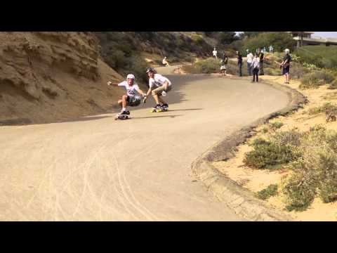 Downhill Disco And The Arbiter 36 KT Longboard With Original Skateboards