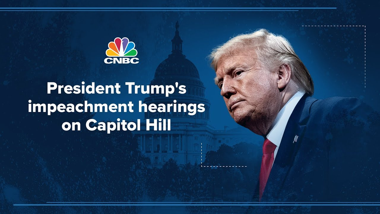 Trump impeachment hearing: Volker, Morrison, Vindman and Williams testify – 11/19/2019