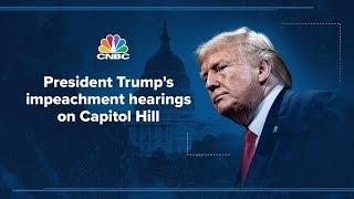 Impeachment hearing: Key witnesses testify in Trump's impeachment probe – 11/19/2019