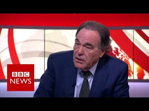 Oliver Stone on Snowden, Trump and Clinton - BBC News