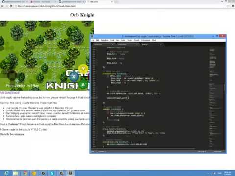 CS50x Final Project : Orb Knight - Programming Timelapse