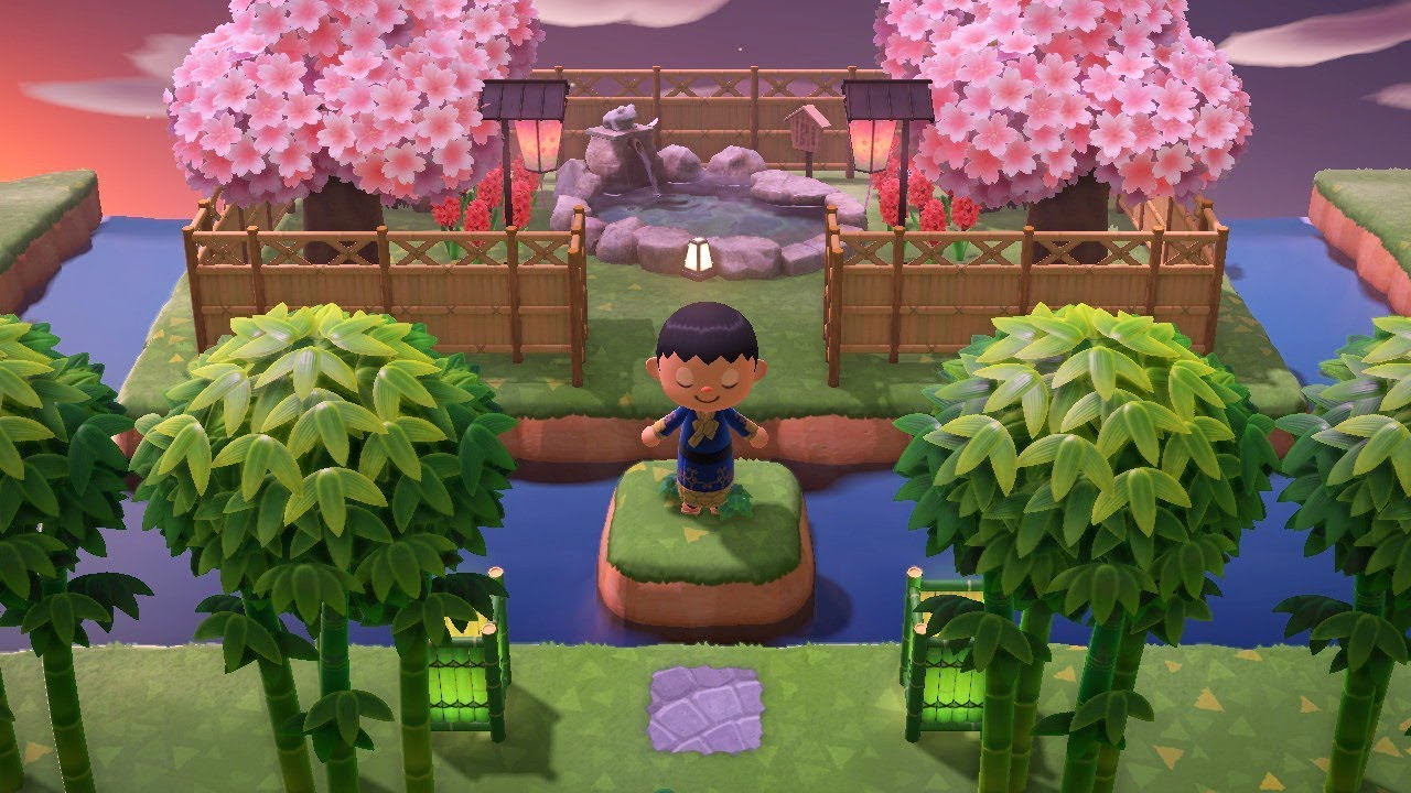 Animal Crossing New Horizons Japanese Town Tour Part 2