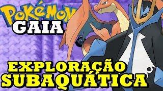 Pokémon Gaia (Detonado - Parte 14) - Exploração com HM Dive!