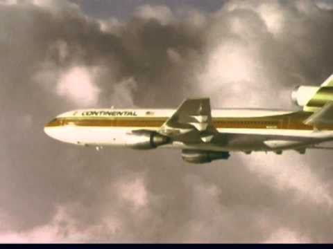Continental Airlines Commercial, 1970s