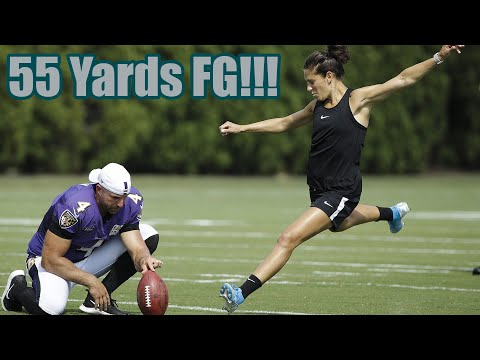 Bromo - Are We Looking At NFL's First Female Player?