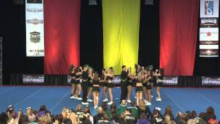 University of Regina Cheerleading - PCA UONCC 2011 - Run 2 - Small Co-ed