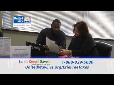 Earn It, Save It, Keep It - Erie FREE Taxes