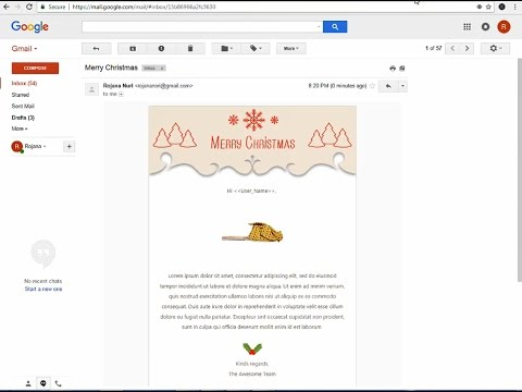 How To Make An Email Template In Gmail Creating Email Templates