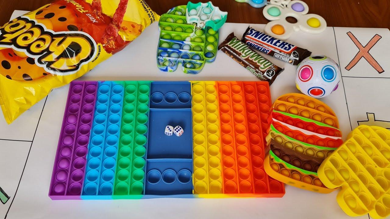 POP IT CHALLENGE - el juego de TIK TOK Fidget game