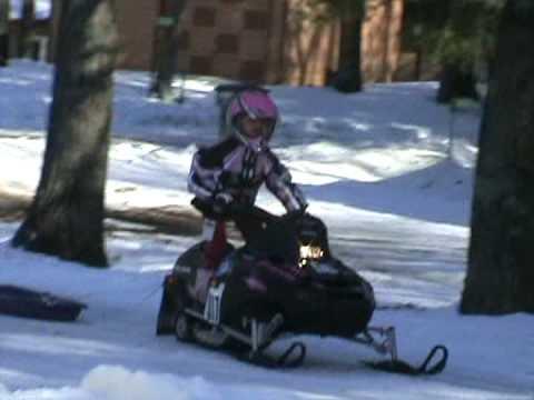 Drew Nelson Snocross 3-years old
