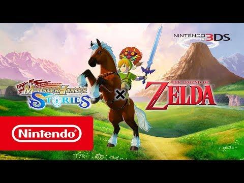 Monster Hunter Stories - The Legend of Zelda collaboration (Nintendo 3DS)