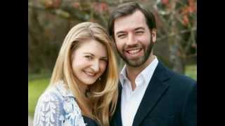 Guillaume and Stéphanie of Luxembourg - Royal Engagement 2012