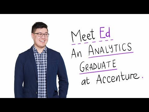 What it's Like Working in Analytics on Accenture's Graduate Programme