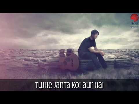 Tu pyar hai kisi aur ka | tujhe chahta koi aur hai | WhatsApp status video | Sanjit creations