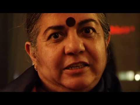 Dr Vandana Shiva at the Copenhagen climate summit
