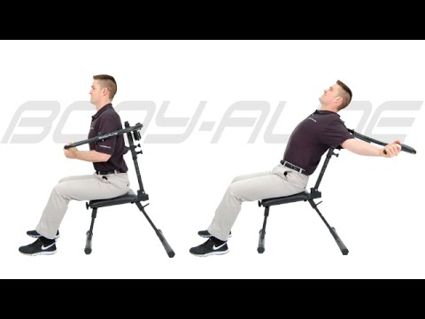 chair exercises on cable tv curved lounge plans computer posture | problems & tips - youtube