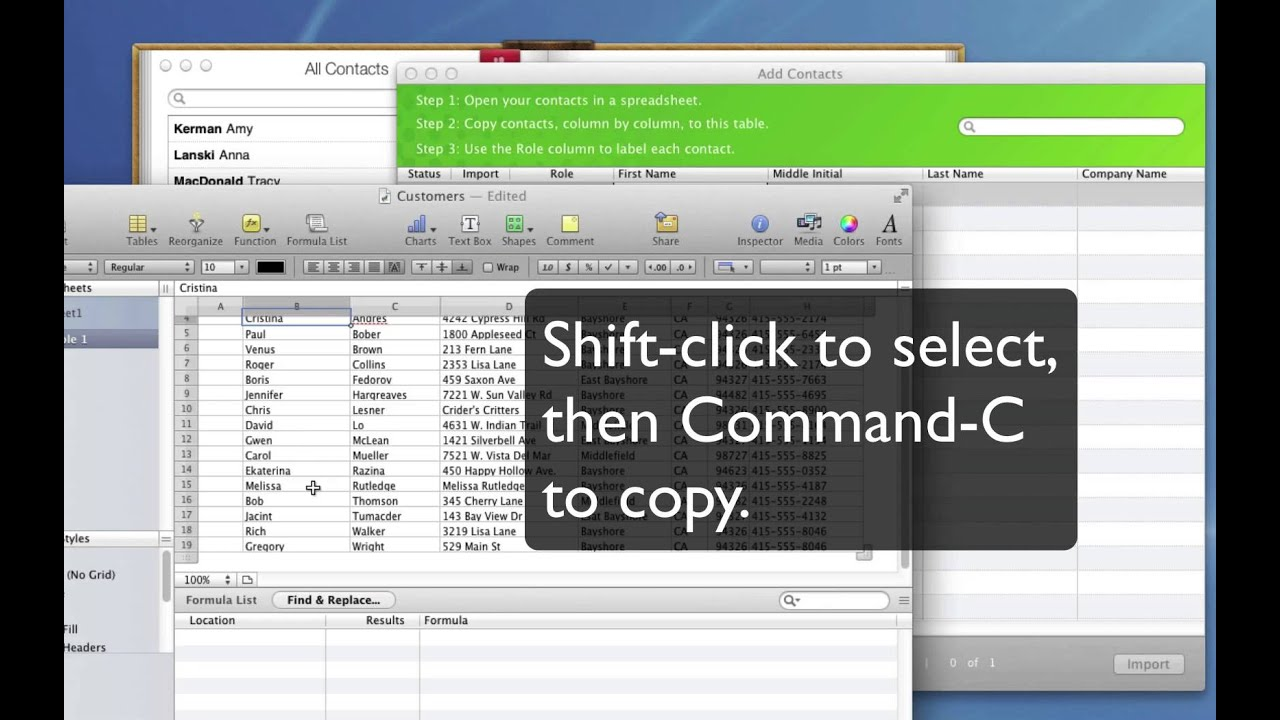 Importing contacts into QuickBooks for Mac - YouTube