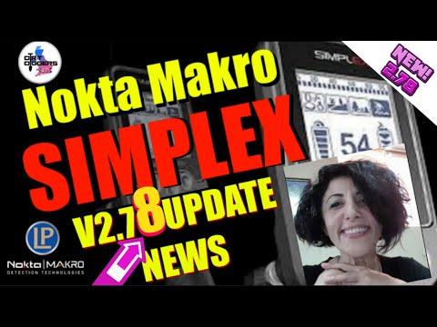 V2.78 Nokta Makro Simplex Update News | NEW INFO | Metal Detecting UK