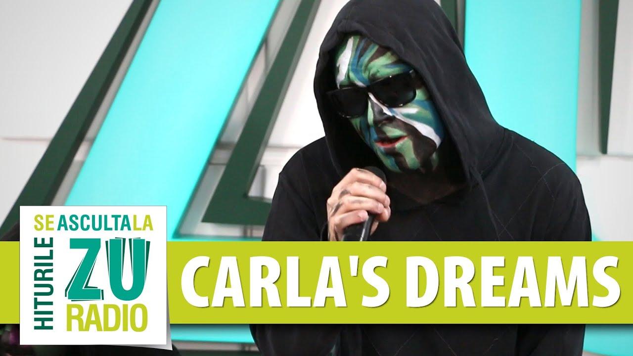 Carla's Dreams - Sub Pielea Mea (Live la Radio ZU)