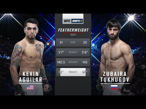 Зубайра Тухугов vs Кевин Агилар: полный бой