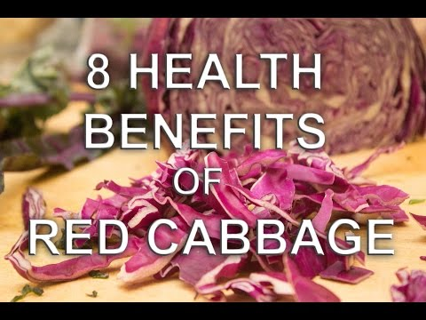 Eight Health Benefits of Red Cabbage: A Food High in Antioxidants