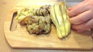 Вегетарианские котлеты из баклажанов